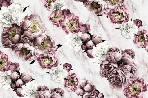 tapeta z kwiatami do domu