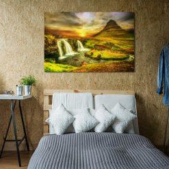 obraz z Islandią kolorową