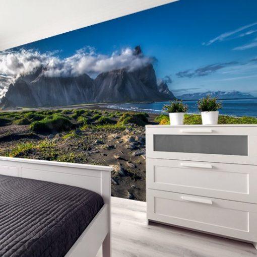 tapeta z Islandią do sypialni
