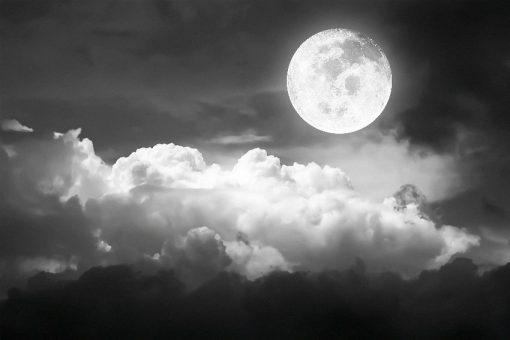 fototapeta z nocnym niebem