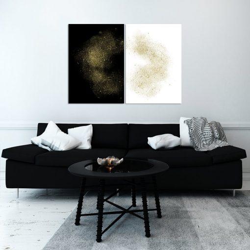 dyptyk złoty jako obrazy