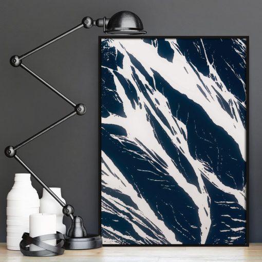 dekoracje z abstrakcyjnymi elementami