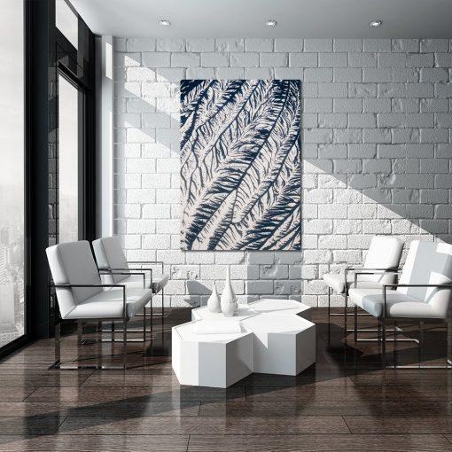biała kora na obrazie pionowym