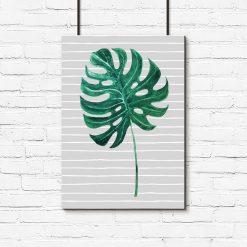 plakaty z liśćmi