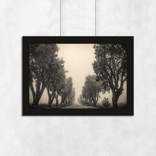 dekoracje z drzewami