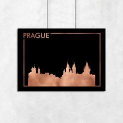 Praga jako ozdoba plakatu