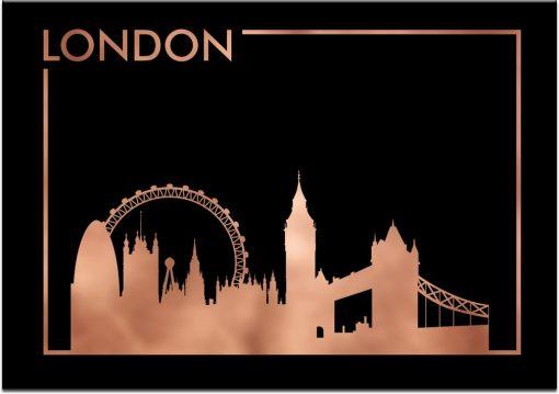 napis London na plakacie
