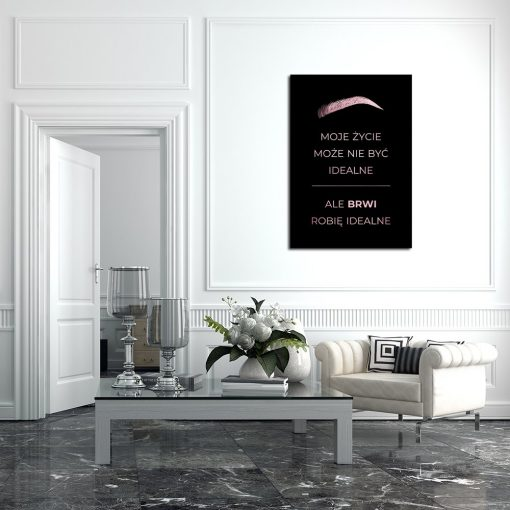 plakaty rose gold