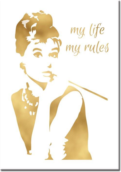 plakaty z Audrey Hepburn