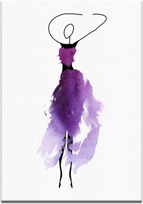 plakat z tancerką
