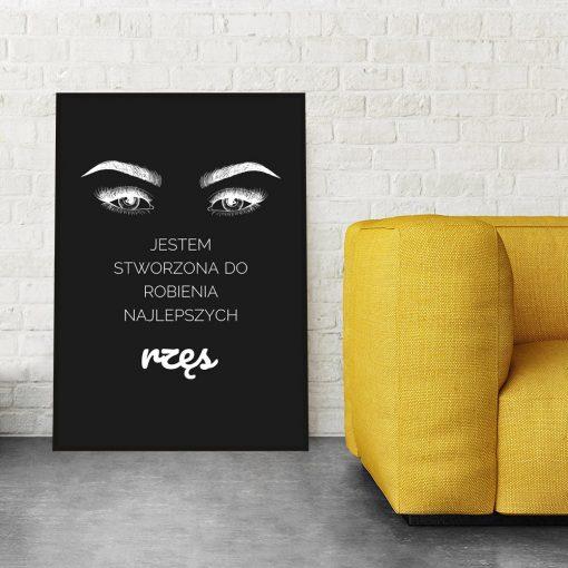 plakat z sentemncją
