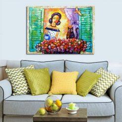 obraz jak malowany do salonu