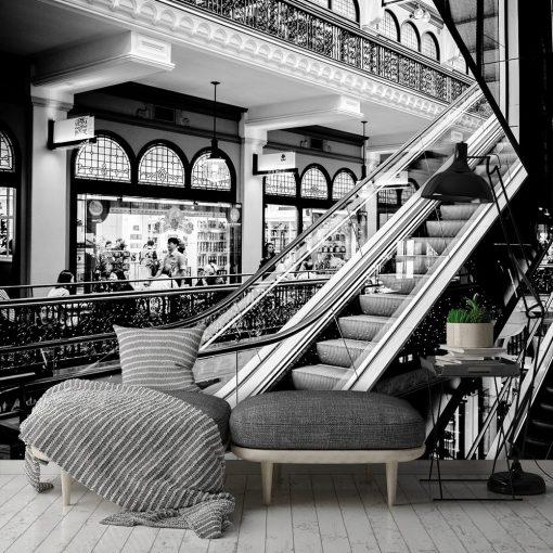 Fototapeta z motywem schodów