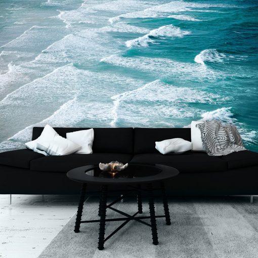 Fototapeta z falującym morzem
