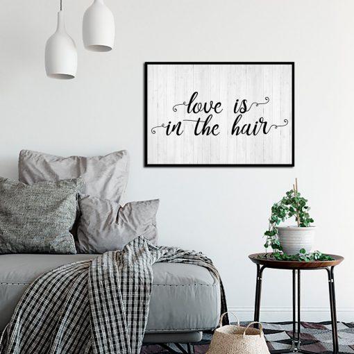 Dekoracja do salonu fryzjerskiego