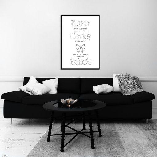 Plakat do salonu