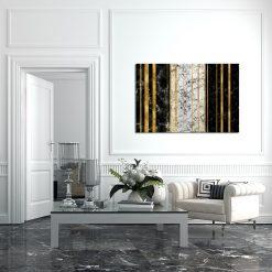 Dekoracja na ścianę do salonu