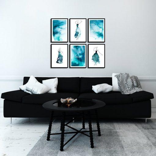 Galeria plakatów do salonu