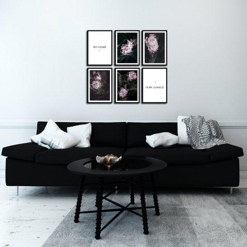 Galeria plakatów z motywem roślinnym
