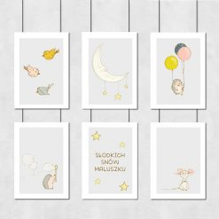 Dekoracja na ścianę do pokoju dziecięcego