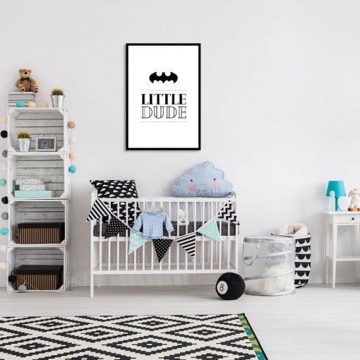 Plakat na ścianę do pokoju dziecka
