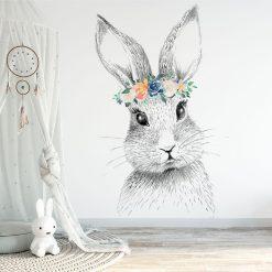 Fototapeta z motywem króliczka do pokoju dziecięcego