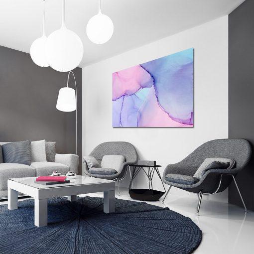 Obraz abstrakcyjny do dekoracji salonu