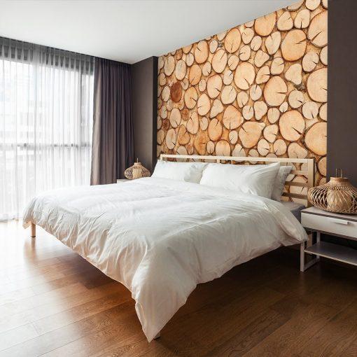 Tapeta na ścianę do dekoracji sypialni