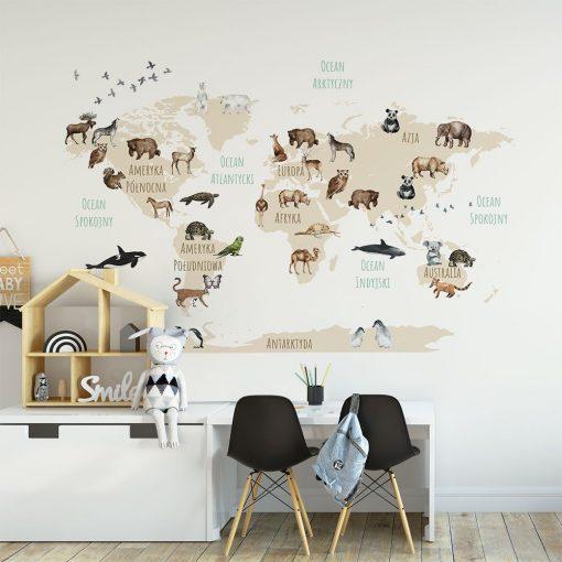Fototapeta na ścianę do pokoju dziecięcego