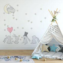 Naklejka na ścianę do pokoju dziecięcego