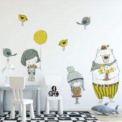 Naklejka do dekoracji pokoju dziecka