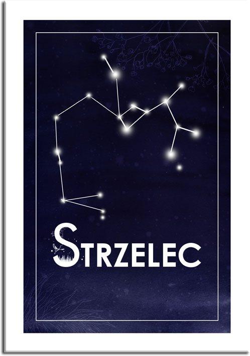 Plakat z motywem astronomicznym