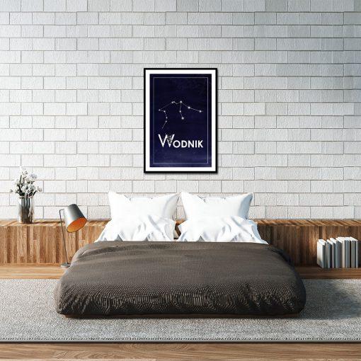 Plakat z motywem astronomicznym do sypialni