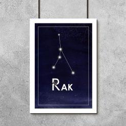 Plakat astronomiczny do sypialni