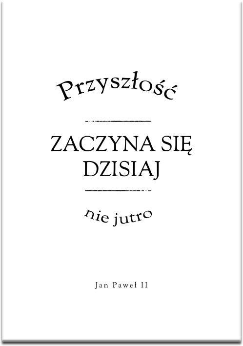 Plakat typograficzny do ozdoby salonu