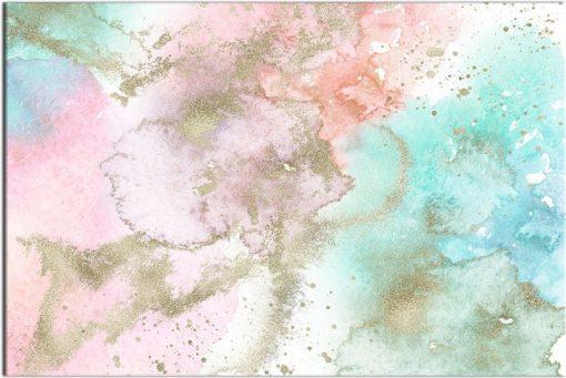 Plakat z kolorowym wzorem abstrakcyjnym