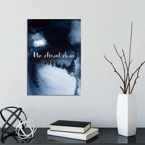 Plakat z abstrakcją do dekoracji salonu