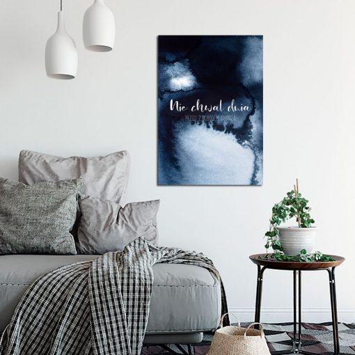 Plakat abstrakcyjny do salonu