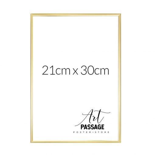 ramka złota na plakat 21x30