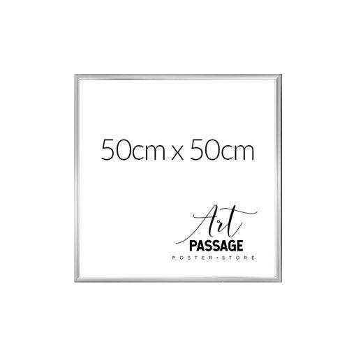 Srebrna rama w wymiarze 50x50