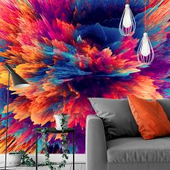 różnokolorowa dekoracja