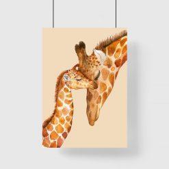 pokój dziecięcy z żyrafkami
