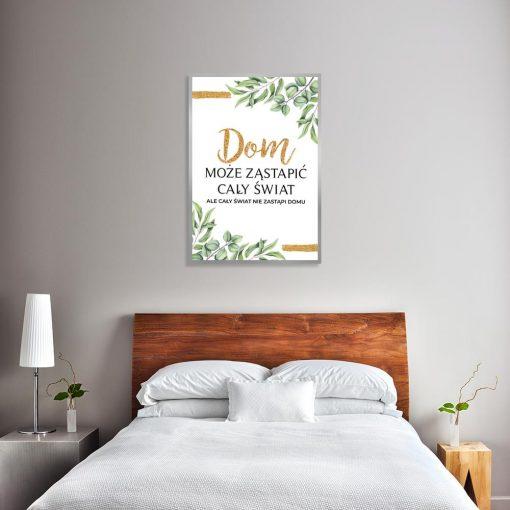 plakat w sypialni