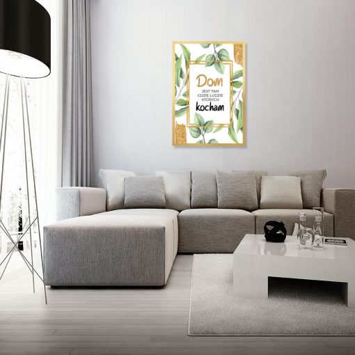 salon jako dekoracja