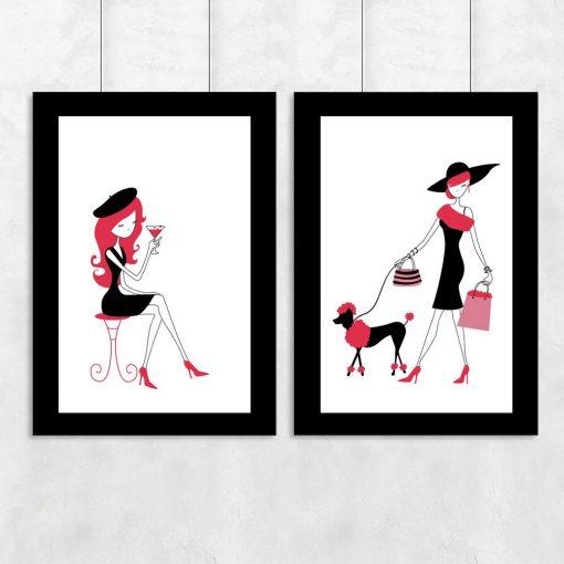 kobiety na plakacie