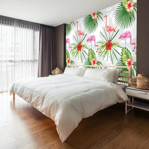 flamingi jako dekoracja