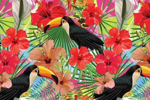 ptaki na tapecie