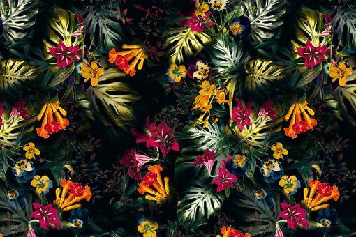 Motywy tropikalne do salonu