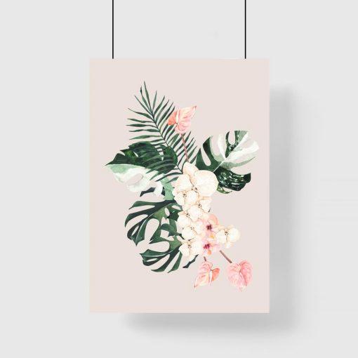liście jako dekoracja