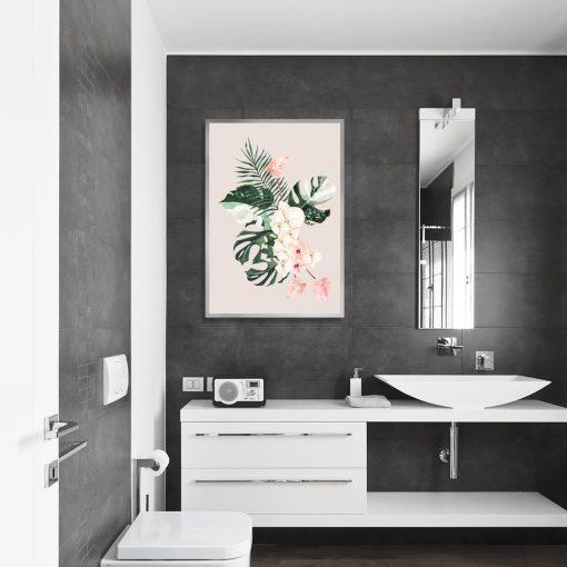 liście na plakacie